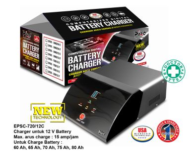 MCU Charger EPSC-72012C Piro Walet Sound System