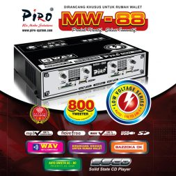MESIN WALET Piro MW-88 Low Voltage Piro Walet Sound System