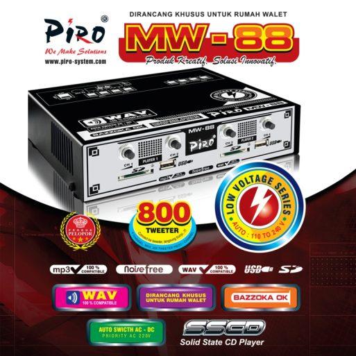 MESIN WALET Piro MW-88 Low Voltage Piro Walet Sound System