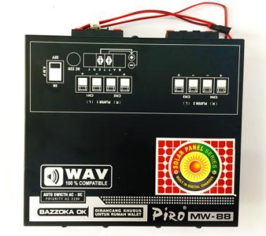 MESIN WALET Piro MW-88 Solar Piro system tweeter piro ampli walet