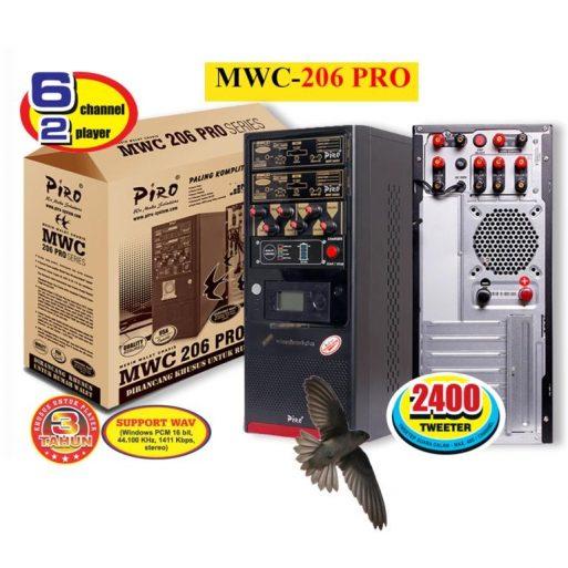 Mesin Walet Chasis MWC-206 PRO LOW VOLTAGE SERIES Piro system speaker panggil walet