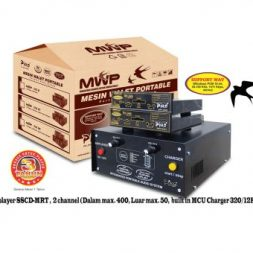 Mesin Walet Portable 203 Double Charger Piro Walet Sound System