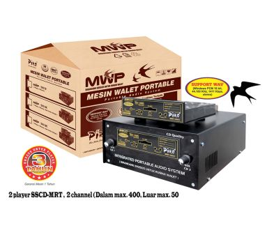 Mesin Walet Portable 203 Double Piro Walet Sound System Jakarta