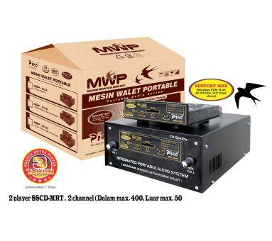 Mesin Walet Portable 203 Double Solar Piro system Sound panggil walet