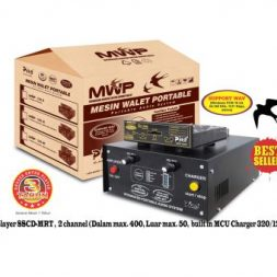 Mesin Walet Portable 203 Single Charger Piro system speaker panggil walet